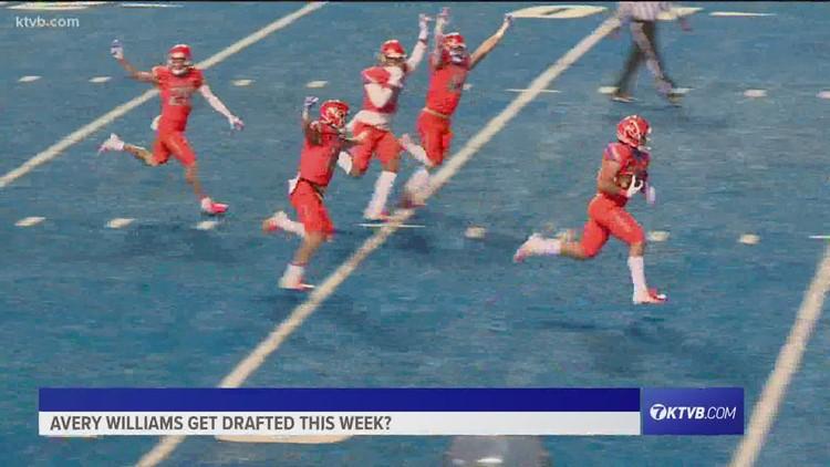 Boise State's Avery Williams' dreams; TE John Bates' chances in 2021 NFL Draft