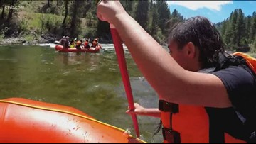 Caldwell kids go rafting for the first time: 'It was fun and scary!'