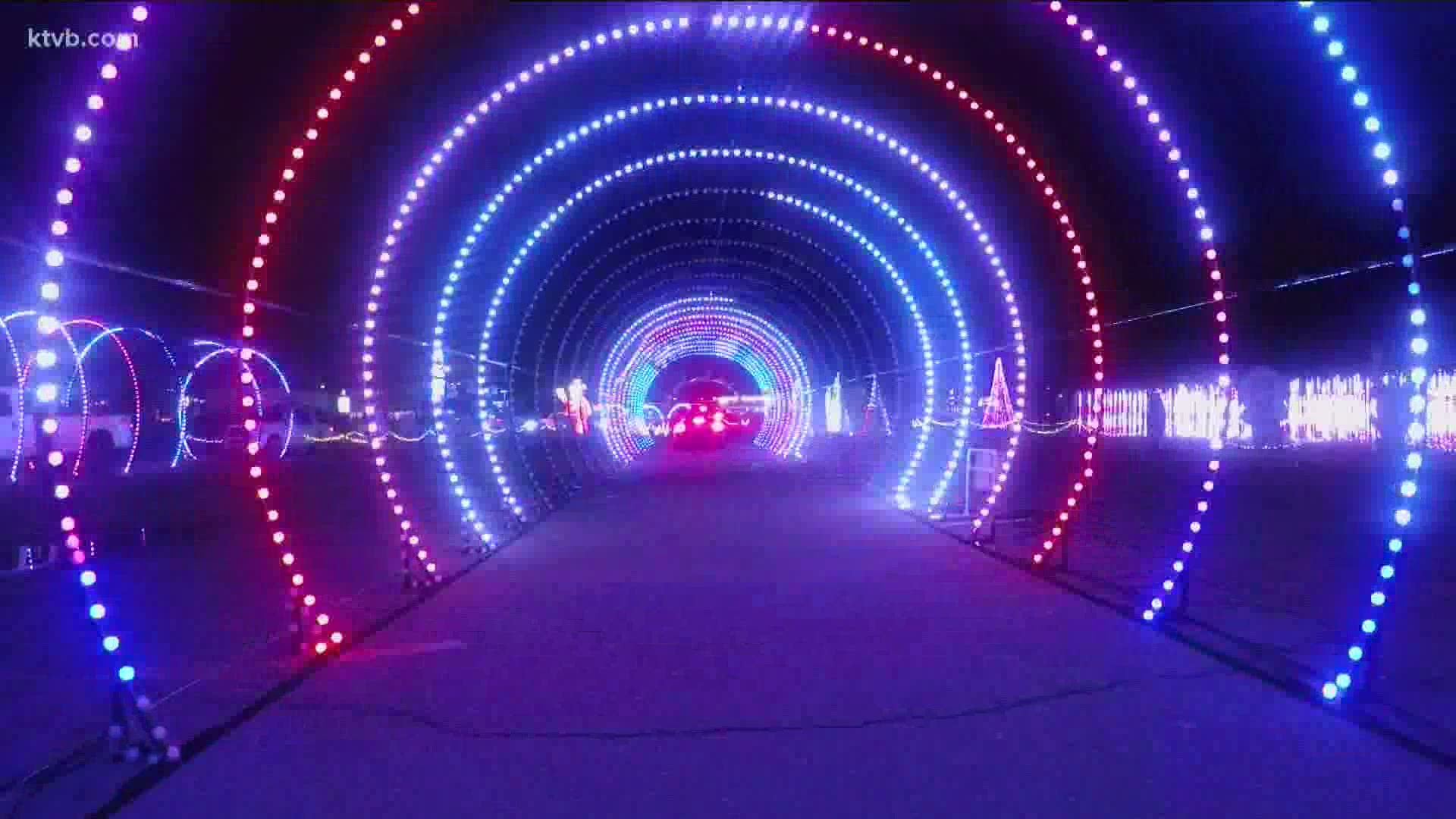 Over 1 million lights transform Expo Idaho for Christmas in Color