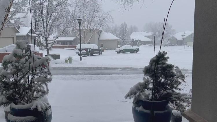 Snow blowing Neighbor!