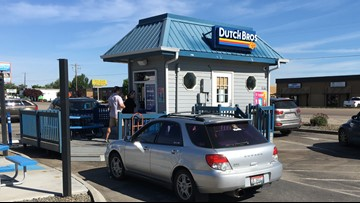 Where's Larry? Dutch Bros, Drink one for Dane