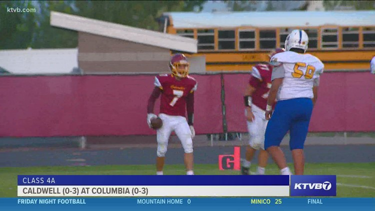 Friday Night Football: Caldwell and Columbia meet up in 4A SIC matchup