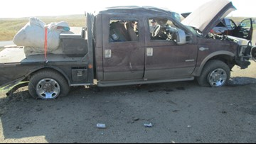 Driver hurt, passenger killed in crash near New Plymouth
