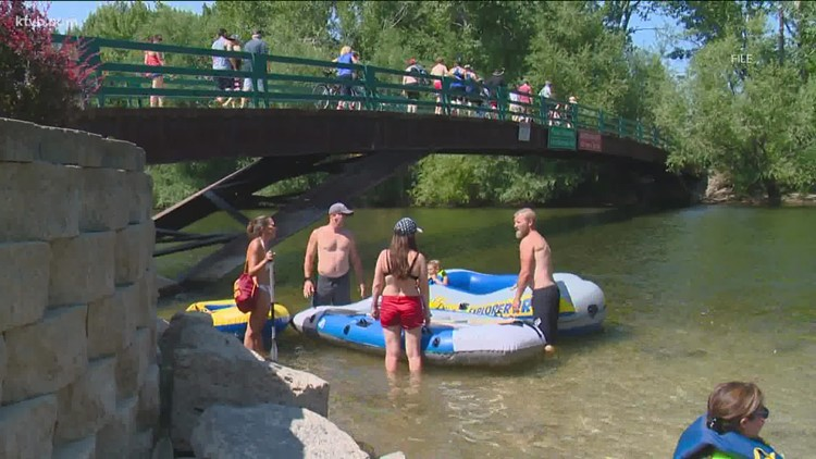Boise River flows dip to 27-year low for August
