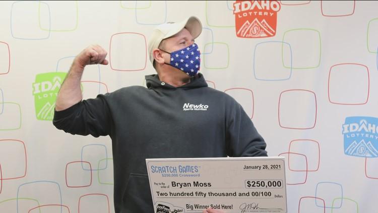 Meridian man celebrates his 6th lottery win