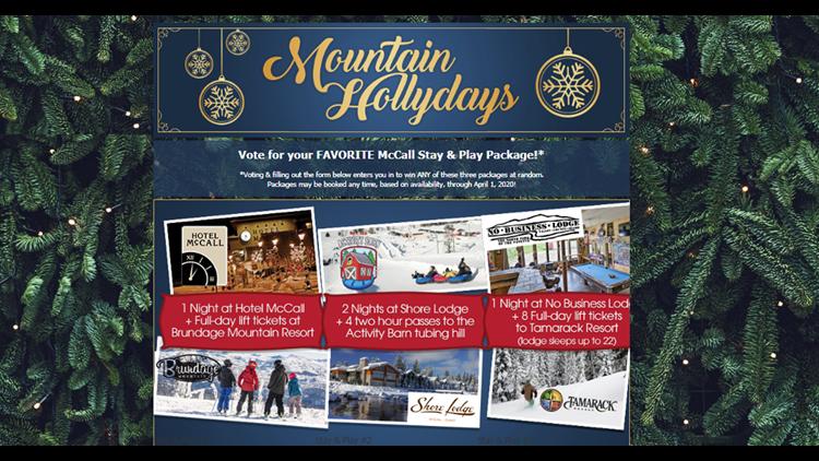 McCall Mountain Hollydays