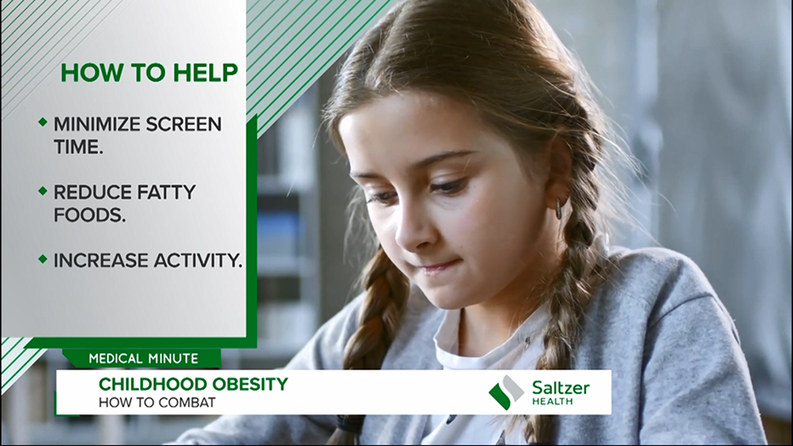 Medical Minute: Current and future health risks with childhood obesity