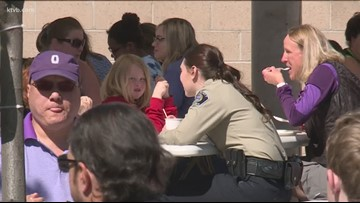 Ada County Sheriff deputies team up with Big Brothers and Big Sisters to mentor children