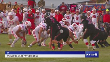 Class 2A Varsity Football Highlights: Weiser Wolverines vs. Payette Pirates