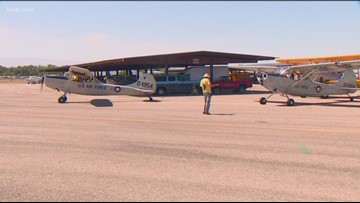 WWII fighter planes gather in Nampa to commemorate the 75th anniversary of D-Day