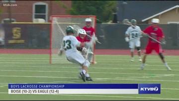 2019 Boys state lacrosse championship: Eagle vs. Boise 5/18/2019