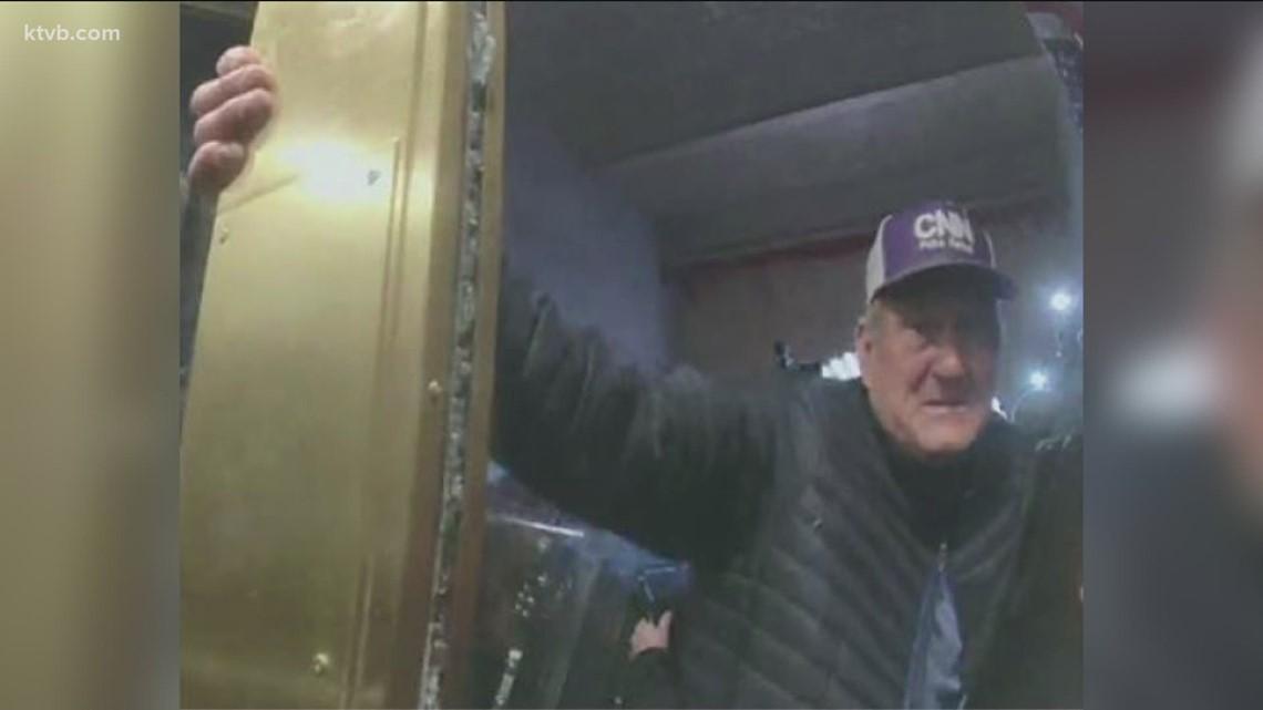 DOJ: Nampa man seen attacking police during deadly riot at U.S. Capitol