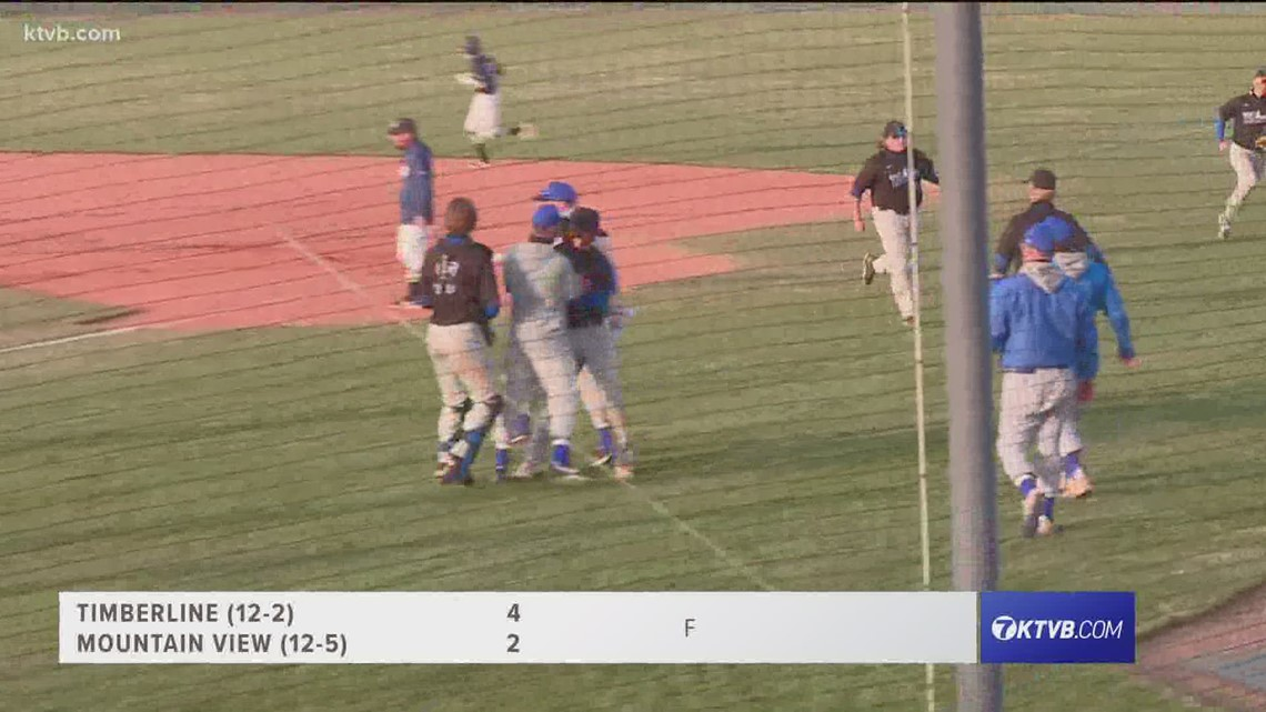 Timberline takes on Mountain View in 5A baseball play