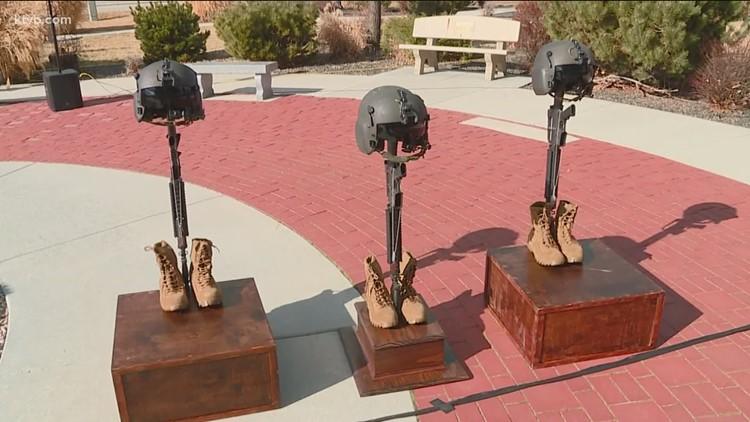 Memorial held for 3 Idaho National Guard pilots killed in chopper crash