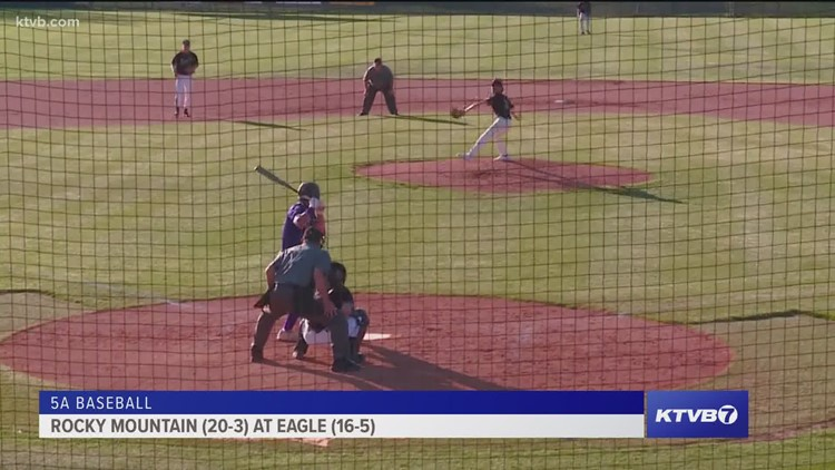 Eagle High School hosts Rocky Mountain in 5A baseball play