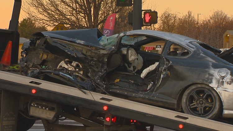 Police: Driver behind string of hit-and-runs before Cole Road wreck