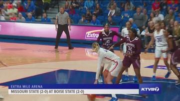 Boise State women's basketball falls short to Missouri State 72-69