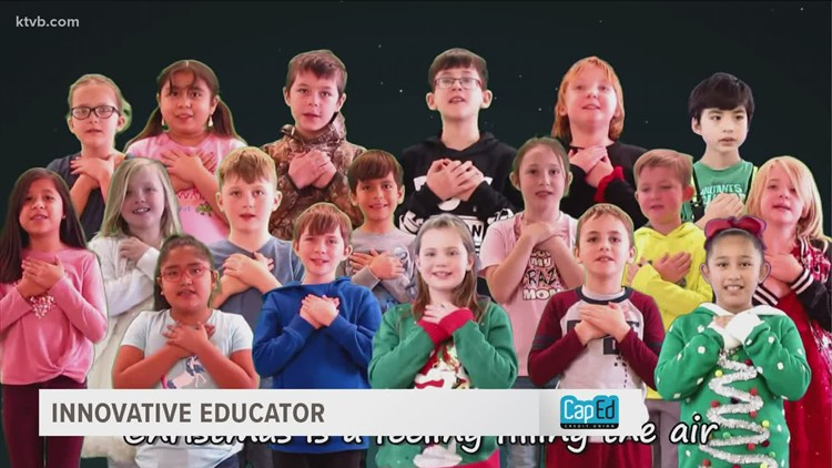 Weiser music teacher and students put on virtual holiday program