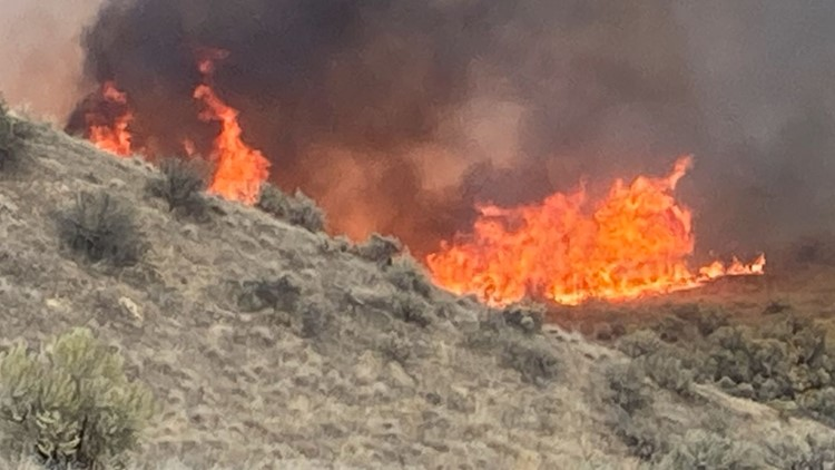 Teens playing with fireworks started Boise Foothills fire, ACSO says
