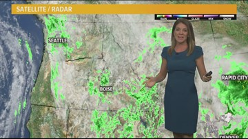 Weather forecast for Monday, May 20