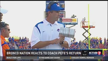 Bronco Nation reacts to Coach Pete's return