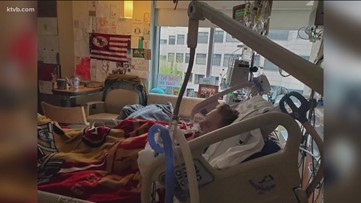 Father and son in ICU among a dozen members of a Boise family to have COVID-19