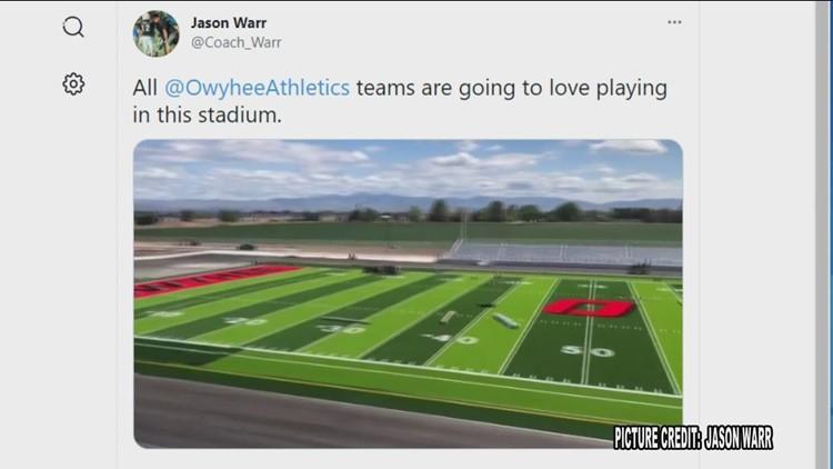 Owyhee High School gets new athletic facilities ahead of 2021 season