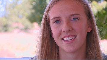 Mountain View senior Lexy Halladay commits to BYU for track and field