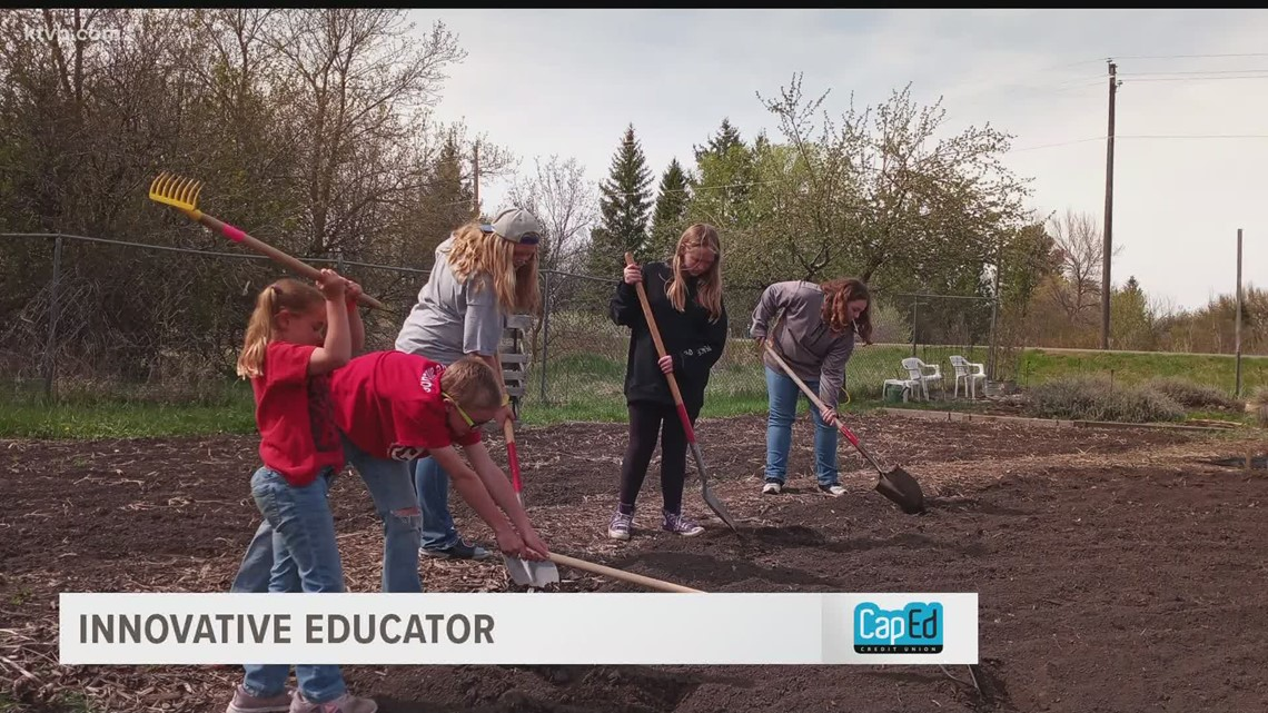 Council teacher is sowing the seeds of self-reliance in her students