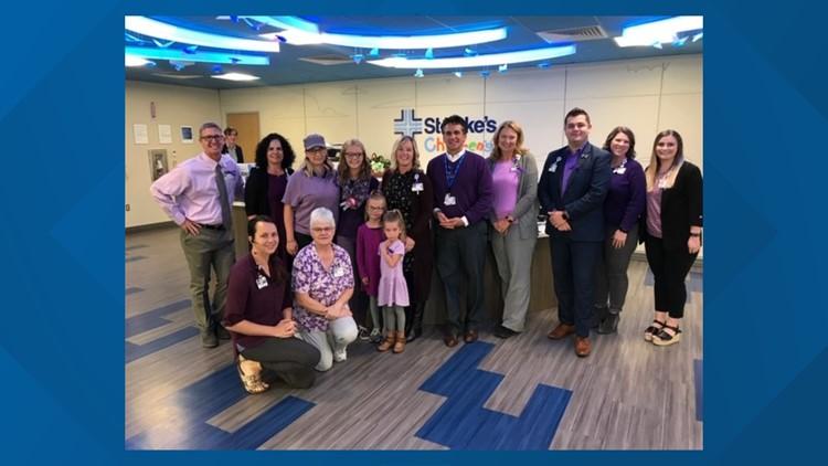 Purple Day at St. Luke's