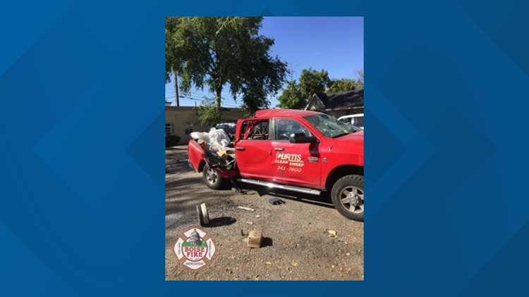 Propane tank explodes in Boise, sends one to hospital