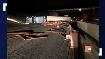 I- 84 reopens near La Grande after semi-truck crash