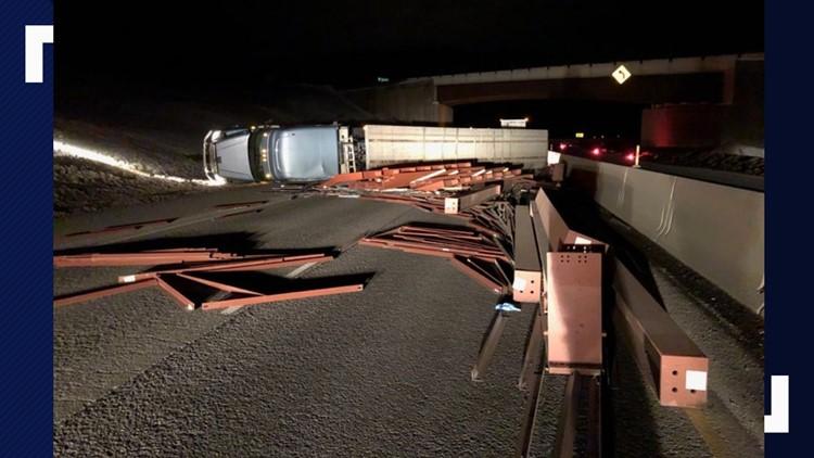 I- 84 reopens near La Grande after semi-truck crash | ktvb com