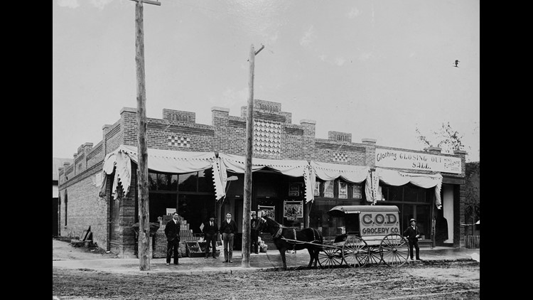 The Beckwith Building in 1900s (Photo courtesy: Idaho State Archives)