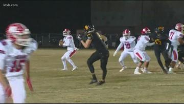 Class 4A Idaho high school state football quarterfinal highlights: Bishop Kelly Knights vs. Nampa Bulldogs