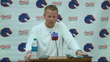 Coach Bryan Harsin gives an update on Hank Bachmeier's injury and how Chase Cord will step in at QB