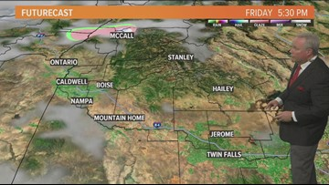 Web Weather forecast for Friday, Feb. 1