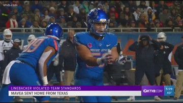 Boise State linebacker sent home from Texas bowl game
