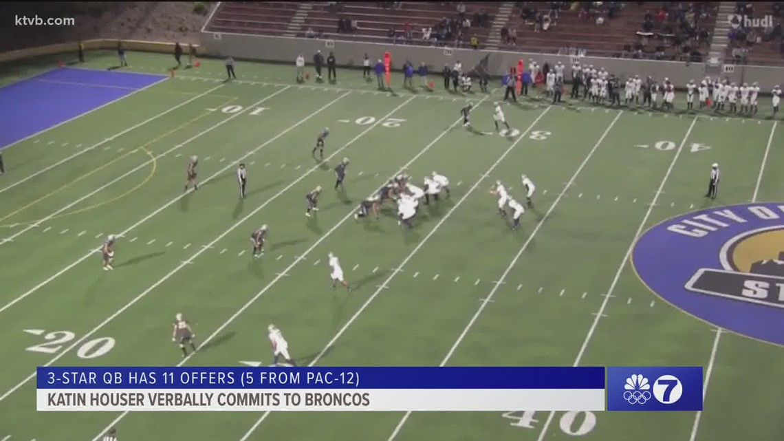 3-star quarterback commits to Andy Avalos and Boise State