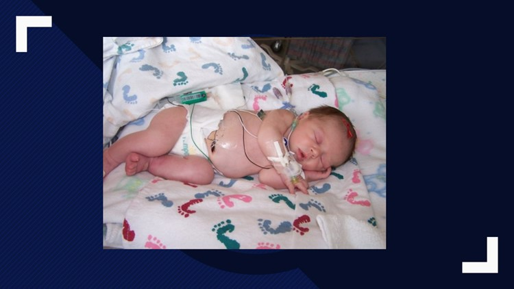 Jayden DeLuca was born with a congenital heart defect in June of 2004.