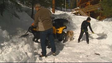 Garden Valley has already got a season's worth of snow