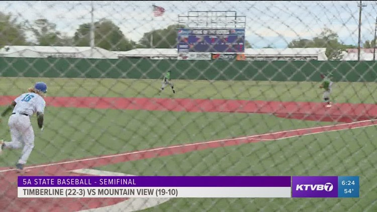 Timberline heads to 5A state baseball championship after semifinal win against Mountain View
