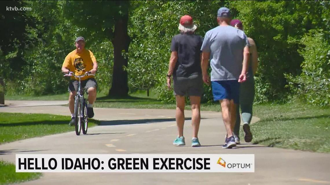 Hello Idaho: The mental health benefits of 'green exercise'