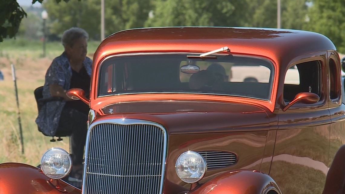 Over 100 vintage cars on display at the Father's Day Weekend Classic Car Show