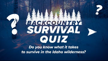 Backcountry survival quiz: Could you survive a winter night in the Idaho wilderness?