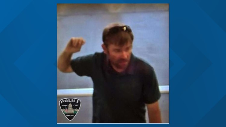 The photograph that aided police in identifying Aaron B. Seifert as the suspect in the July 12 video voyeurism incident.
