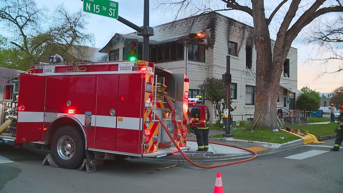 Cat dies, man rescued in downtown Boise apartment fire