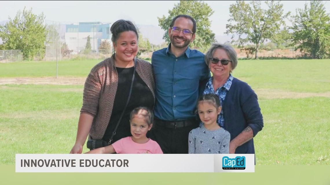 Meridian teacher selected as Idaho 2022 Teacher of the Year