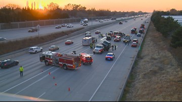 ISP: 2 injured after driver crashes into 9 vehicles on I-184 Connector