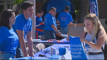 'These donations change lives' says BSU student about Bronco Giving Day